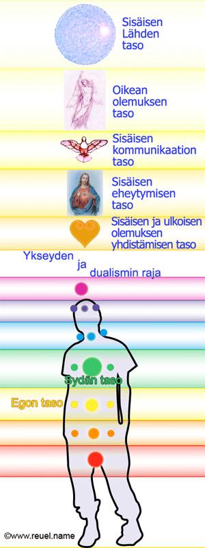 12 tajunnan tasoa