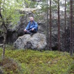 Meditating in Lapland